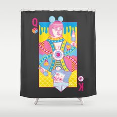 Queen Of Nowhere, King Of Nothing Shower Curtain