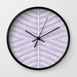 SOFT LAVENDER Wall Clock