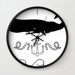 Nautical Theme Wall Clock