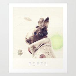 Star Team - Peppy Art Print