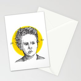 St. Marie Curie Stationery Cards