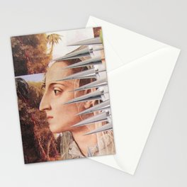 Laura The Iron Maiden Stationery Cards