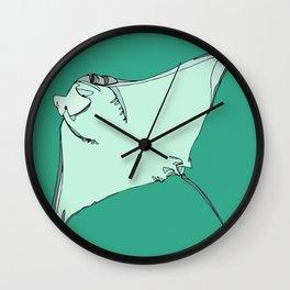 Sting Ray Wall Clock