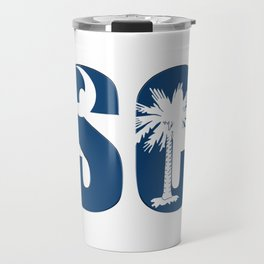 South Carolina SC State Flag Letter product Travel Mug