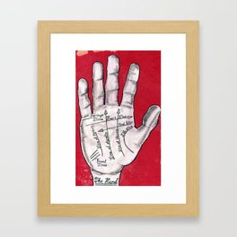 The Hand Framed Art Print