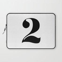number 2 Laptop Sleeve