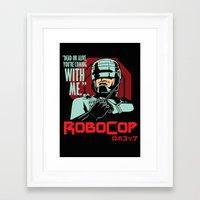 robocop Framed Art Prints featuring Robocop  by Buby87