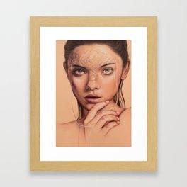 Untangle Me Framed Art Print