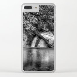Lower North Falls BW Clear iPhone Case