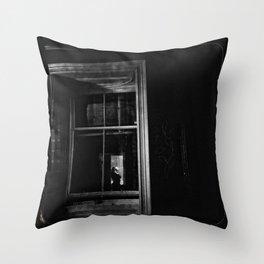 Window - Gerald Robin © Throw Pillow