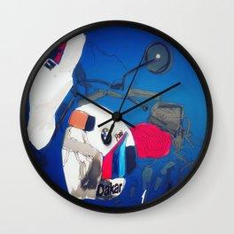 Paris/Dakar Wall Clock