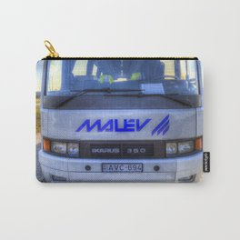 Malev Airlines Bus Carry-All Pouch