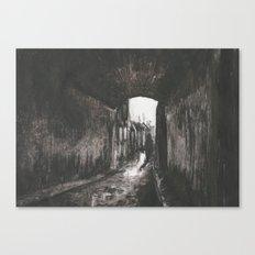 An Evening in Whitechapel Canvas Print