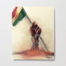 kurdistan Metal Print