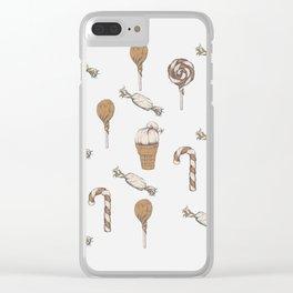 Sweet hair Clear iPhone Case