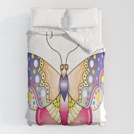 Butterfly Doodle Comforters