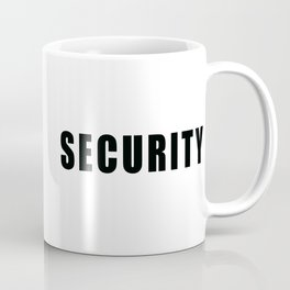 SECURITY TEE SHIRT inverse edition Coffee Mug