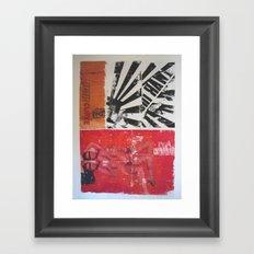 Pop/Curve Framed Art Print