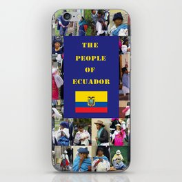 The People of Ecuador, Collage iPhone Skin