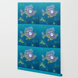 Zombie Fish Wallpaper
