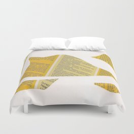 Collage space 24 Duvet Cover