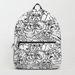 Oh English Bulldog Backpack