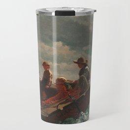 Winslow Homer - Breezing Up (A Fair Wind) Travel Mug