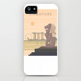 Singapore iPhone Case