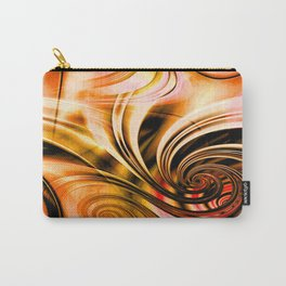 Curls Deluxe Orange Carry-All Pouch