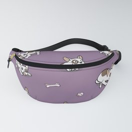Sweet Frenchie Bulldog Puppies Pattern Fanny Pack