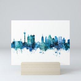 San Antonio Texas Skyline Mini Art Print
