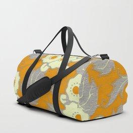 Gold Blossoms Duffle Bag