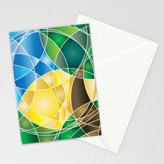 Mosaic Sunrise Stationery Cards