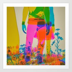 CMYK1964v2 (everyday 04.18.17) Art Print