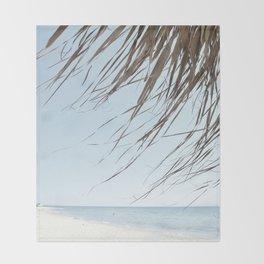 Beach spirit Throw Blanket