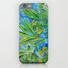 LAKE LOVE - Beautiful Relaxing Turquoise Blue Green Seaweed Chic Decor Gift for Him Acrylic Painting Slim Case iPhone 6s
