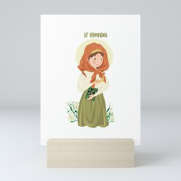 Sanit Dymphna Mini Art Print