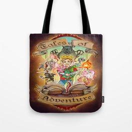 Tales of Adventure Tote Bag