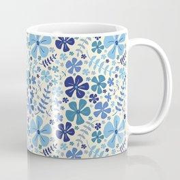 My Little Garden blue & green Coffee Mug