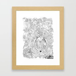 Other Worlds: The Kingdoms Framed Art Print