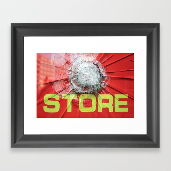 re-store Framed Art Print
