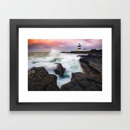 Hook Head Lighthouse (RR 205) Framed Art Print