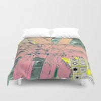 rare Duvet Covers featuring Rare Earth #1 by Cory Brown
