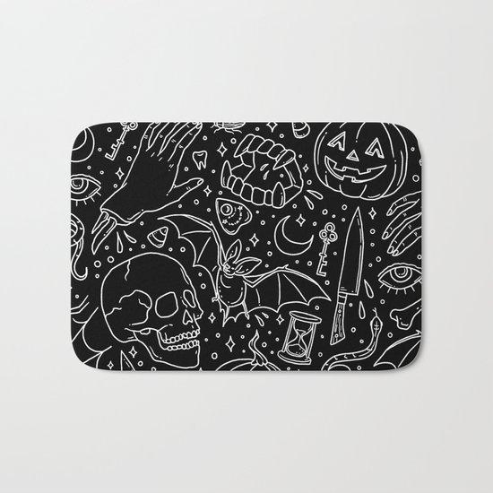 Halloween Horrors Bath Mat