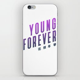 BTS ! Young Forever iPhone Skin