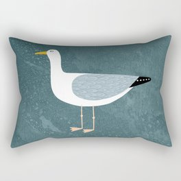 Seagull Standing Rectangular Pillow