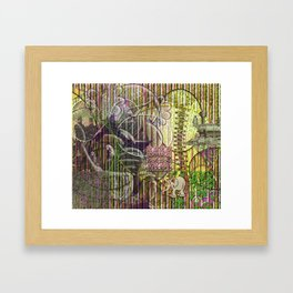 A Strict Code for Mourning Flowers (2) Framed Art Print