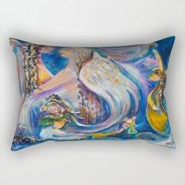 Touching Election Rectangular Pillow