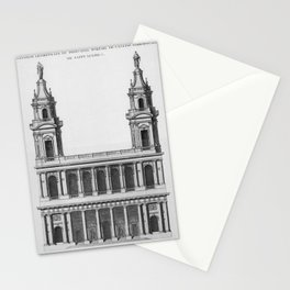 Saint-Sulpice, Grand Portail Stationery Cards