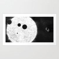 MACROCOSMOS 01 Art Print